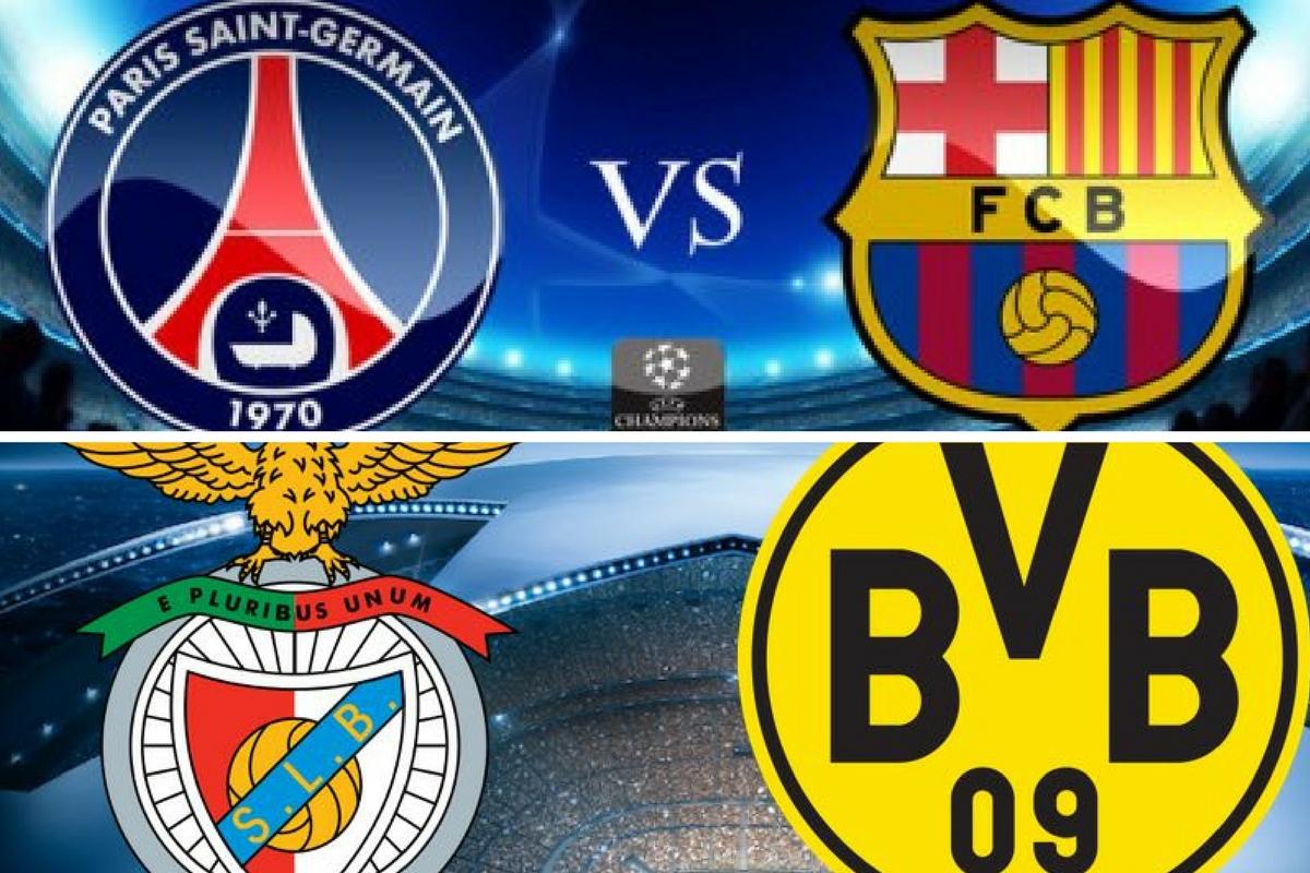 Program și rezultate Liga Campionilor 14 februarie. Marți seara se dispută meciurile PSG - Barcelona și Benfica - Dortmund, în optimile UCL.