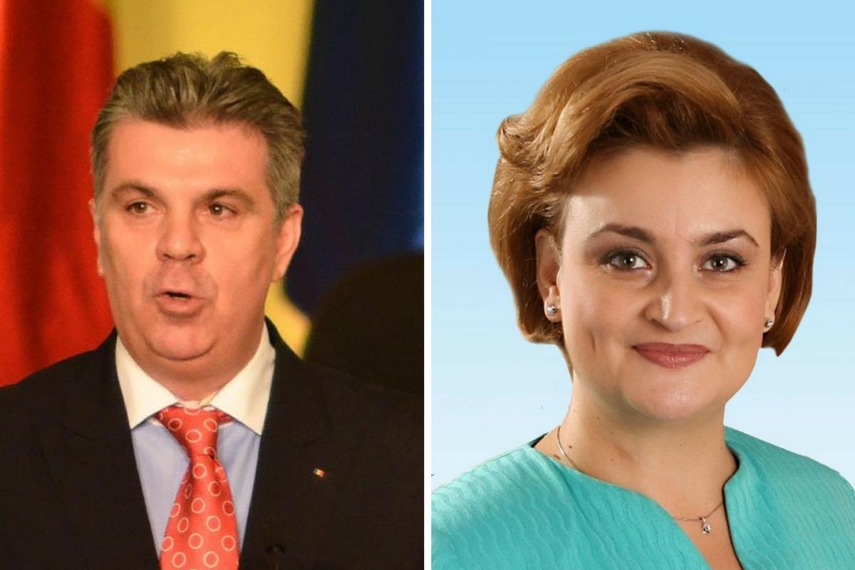 Valeriu Zgonea și Grațiela Gavrilescu s-au prezentat miercuri la DNA. Cei doi au fost audiați de procurori în dosare diferite.