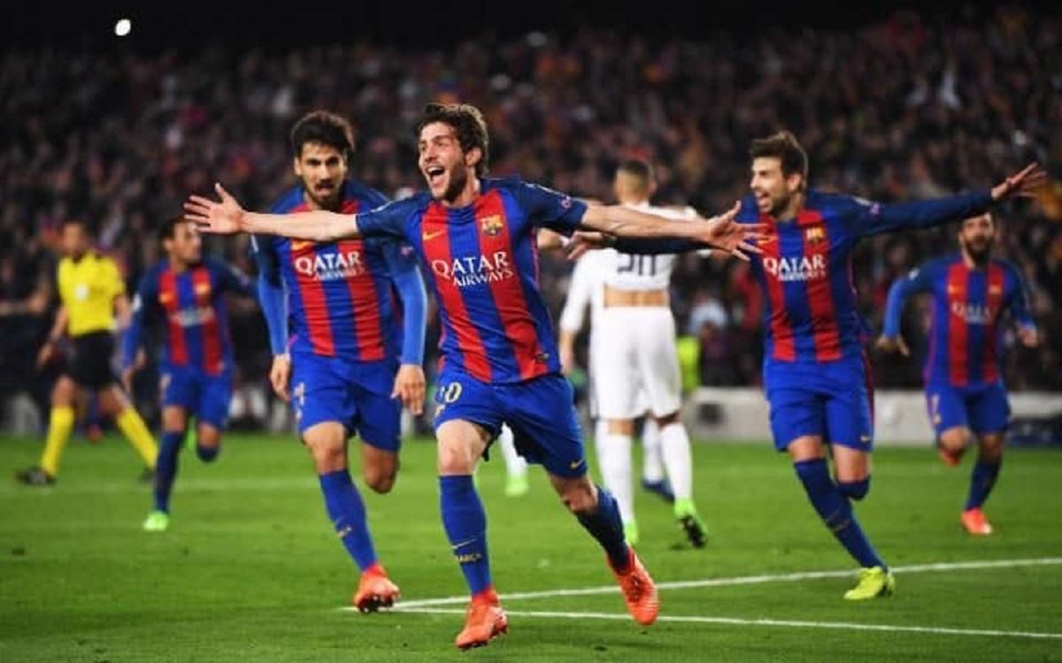 Meciul dintre Barcelona - PSG a creat istorie, aseară, 8 martie, pe stadionul Camp Nou. Barcelona a învins PSG cu 6-1.