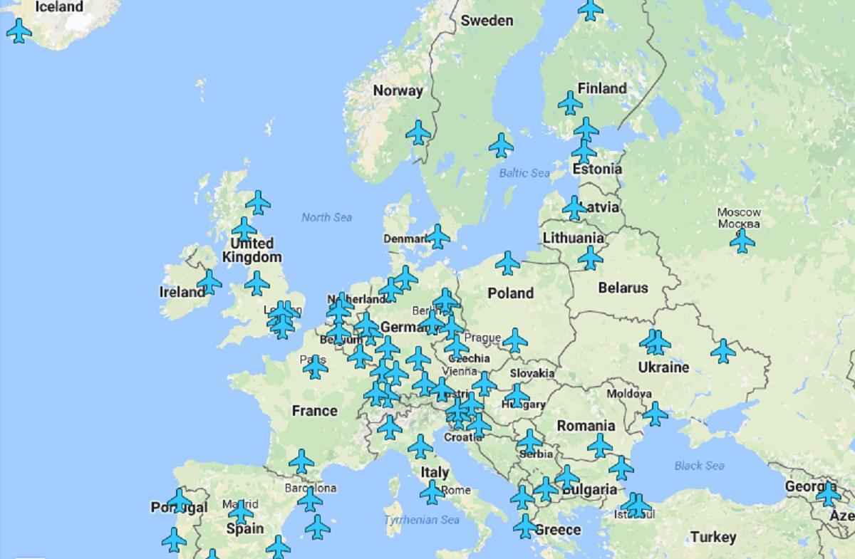 Harta Cu Parole De Wi Fi Pentru Fiecare Aeroport Din Lume