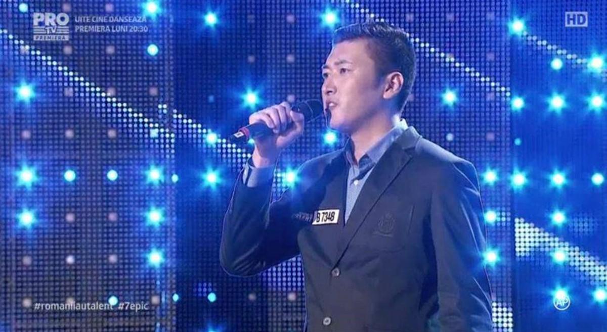 Fang Shuang este chinezul de la Românii au talent care a impresionat cu melodia Copacul. El a fost trimis în semifinală cu butonul de golden buzz