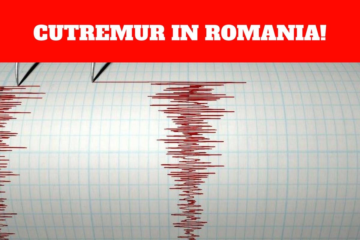 Cutremur în România, în urmă cu puţin timp!