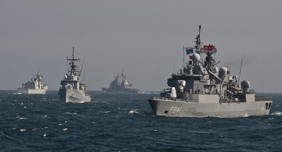 Ciocnire în Marea Neagră. Militari răniți