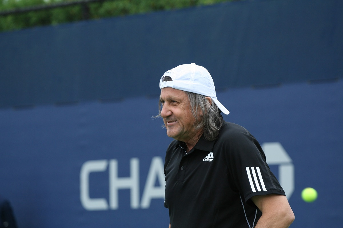 Ilie Năstase a fost dat afară de la meciul din Fed Cup dintre Sorana Cârstea și Johanna Konta, de la Constanța.