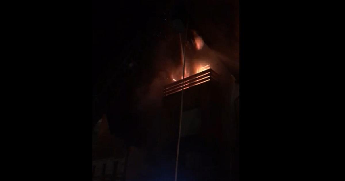 Incendiu în Sinaia, la un hotel de cinci stele
