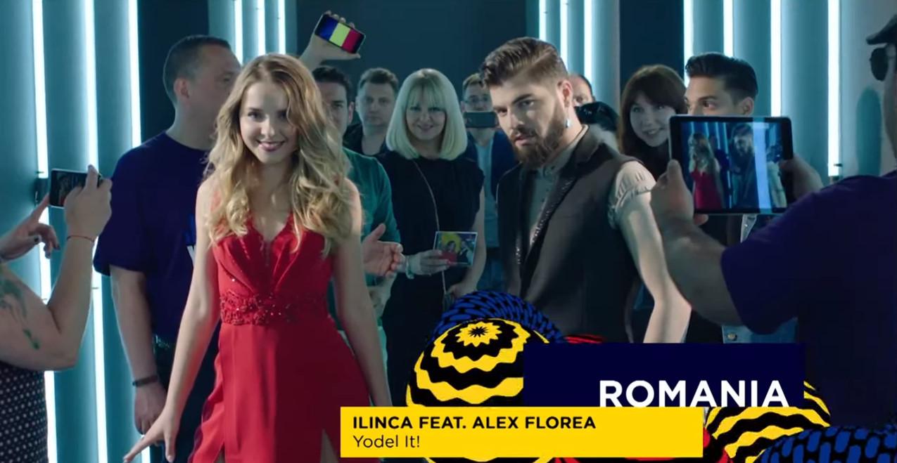 Resultado de imagen de eurovision ilinca