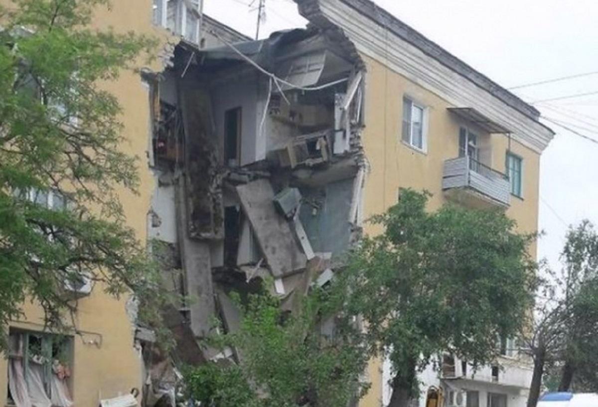 Explozie puternică într-un bloc din Rusia! Cel puțin doi morți VIDEO