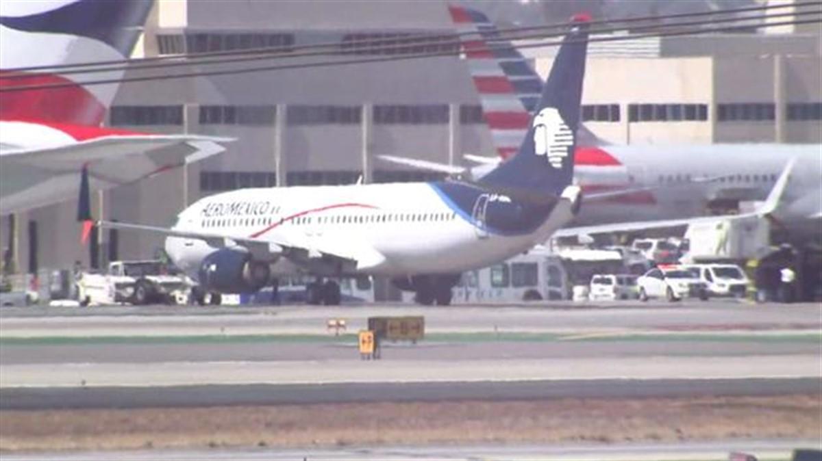 Un incident a avut loc pe aeroportul din Los Angeles. Opt persoane au fost rănite după ce un avion a lovit o autoutilitară.