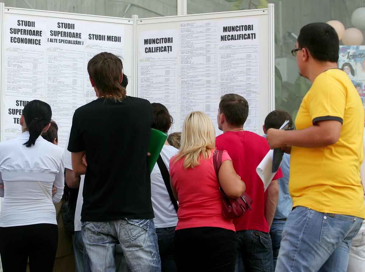 Numărul șomerilor din România a coborât la un nivel minim istoric în luna martie a acestui an, comparabil cu anul 1994.