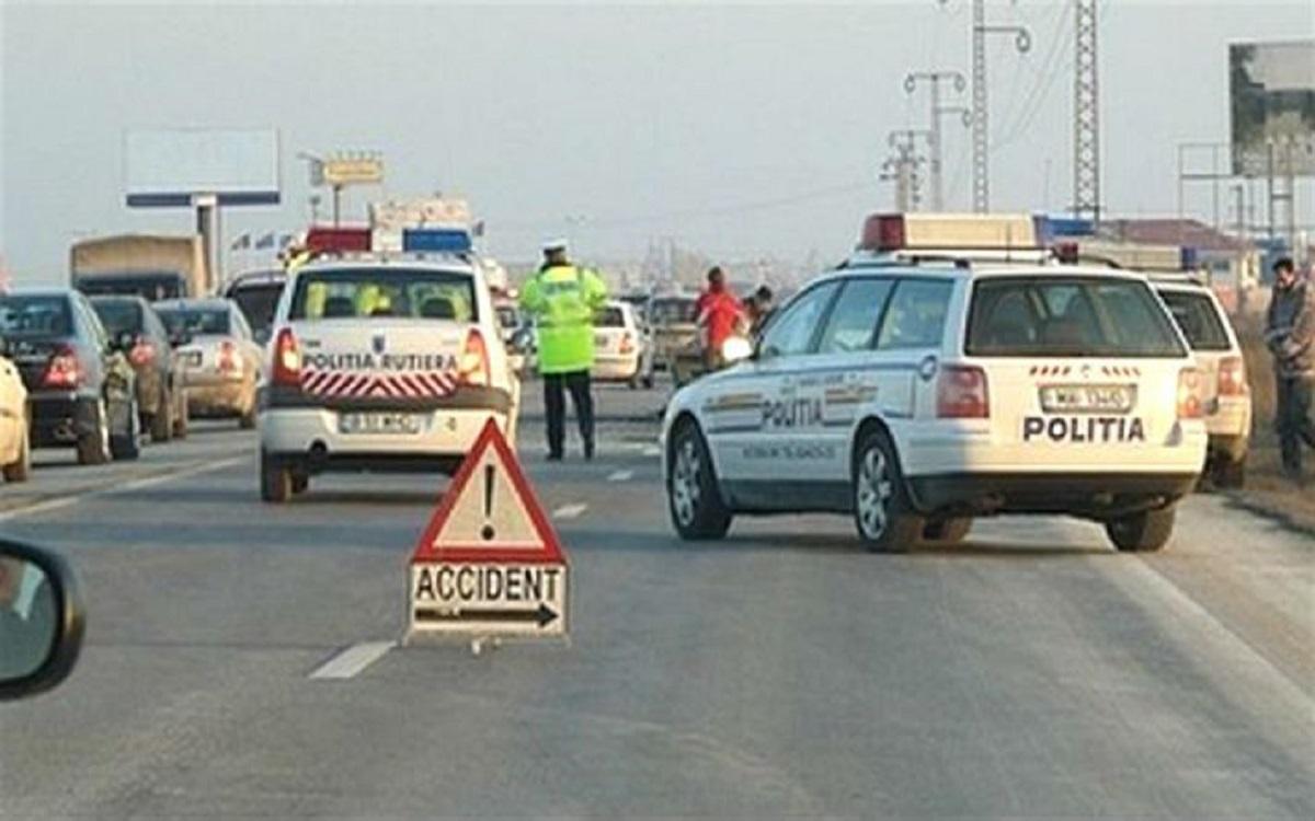 ACCIDENT şocant pe Autostrada Soarelui! Este incredibil ce a păţit bărbatul