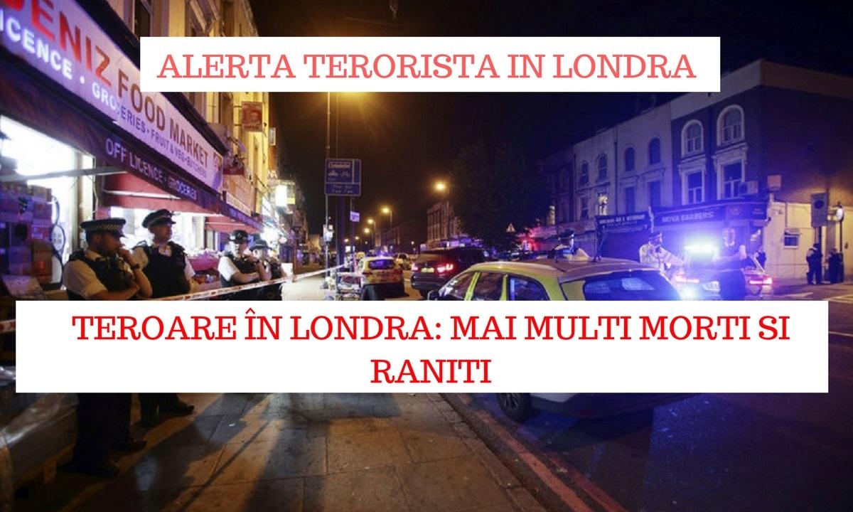 Alertă la Londra