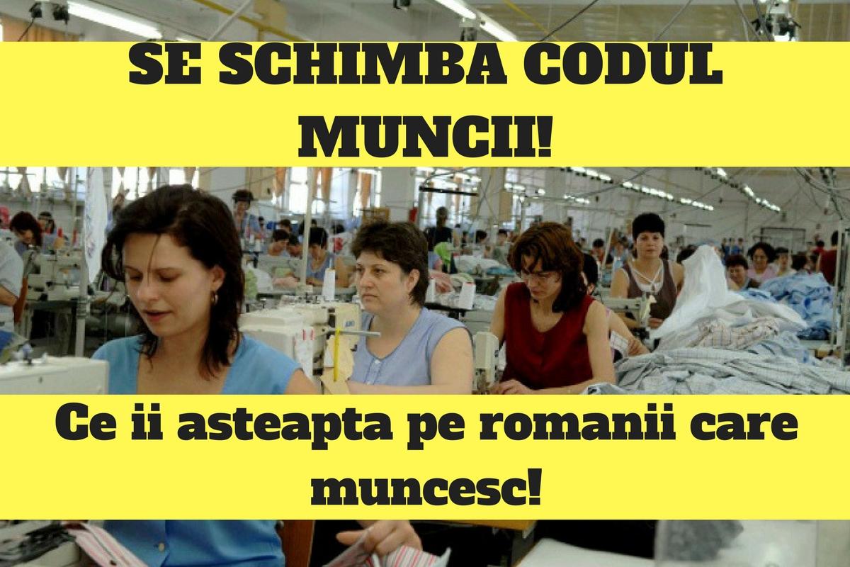 Codul Muncii se va schimba radical. Iată ce îi așteaptă pe toți românii care au un loc de muncă.