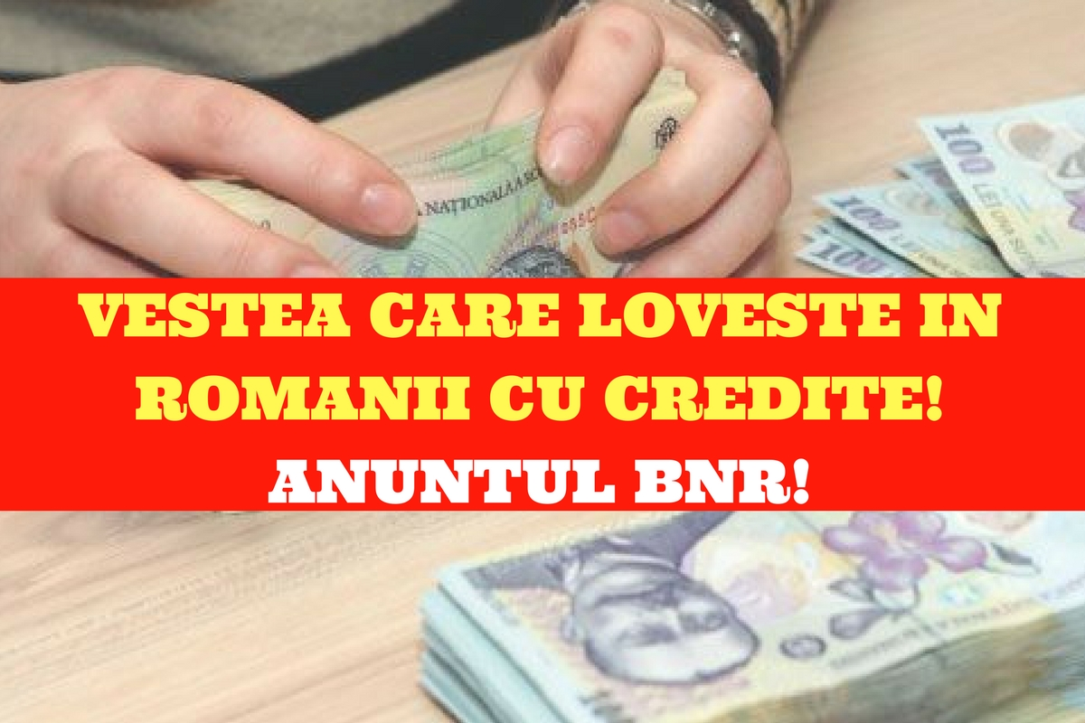 Banca Națională a României (BNR) a tras semnalul de alarmă în premieră! Românii cu credite sunt vizați!