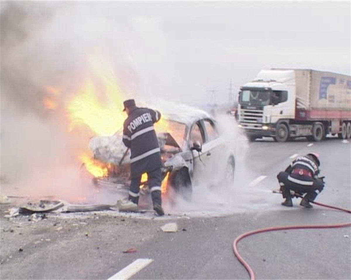 Accident rutier cu patru VICTIME!