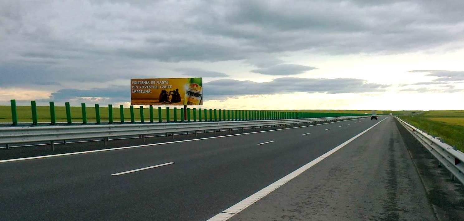 Traficul pe Autostrada Soarelui este îngreunat