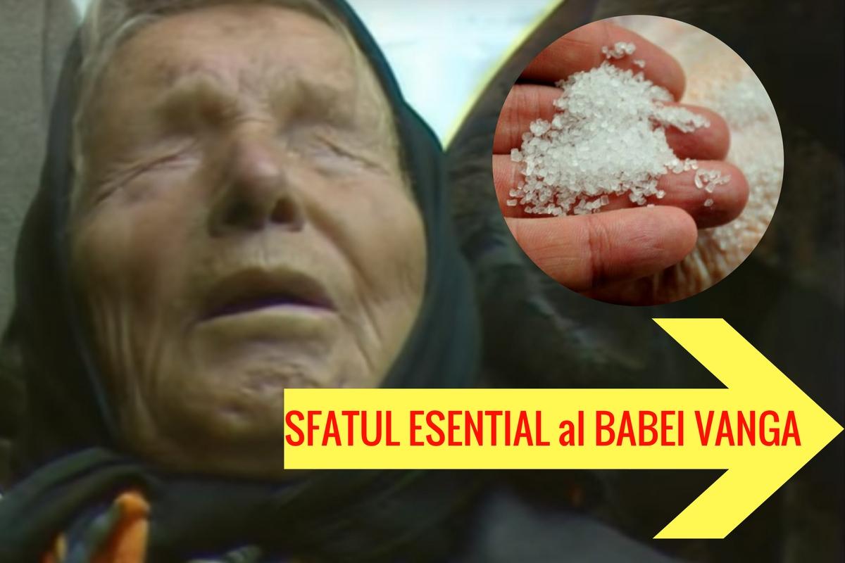 """Baba Vanga: """"Pune sare la toate pervazurile și, în cel mai scurt timp, vei..."""