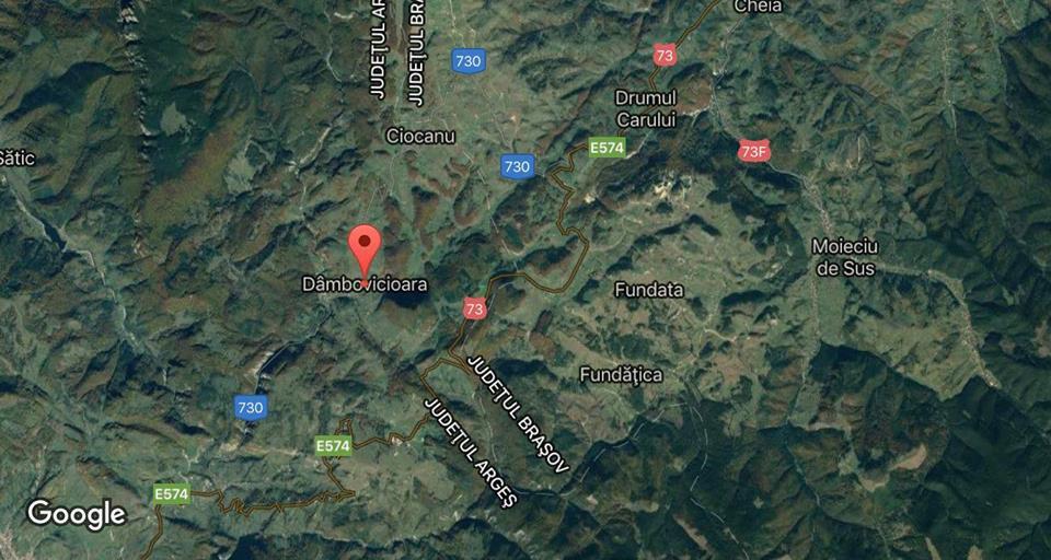 Un camion militar care venea de la Cincu s-a rasturnat intr-o rapa la Dambovicioara (Arges). 13 militari se aflau in camion.