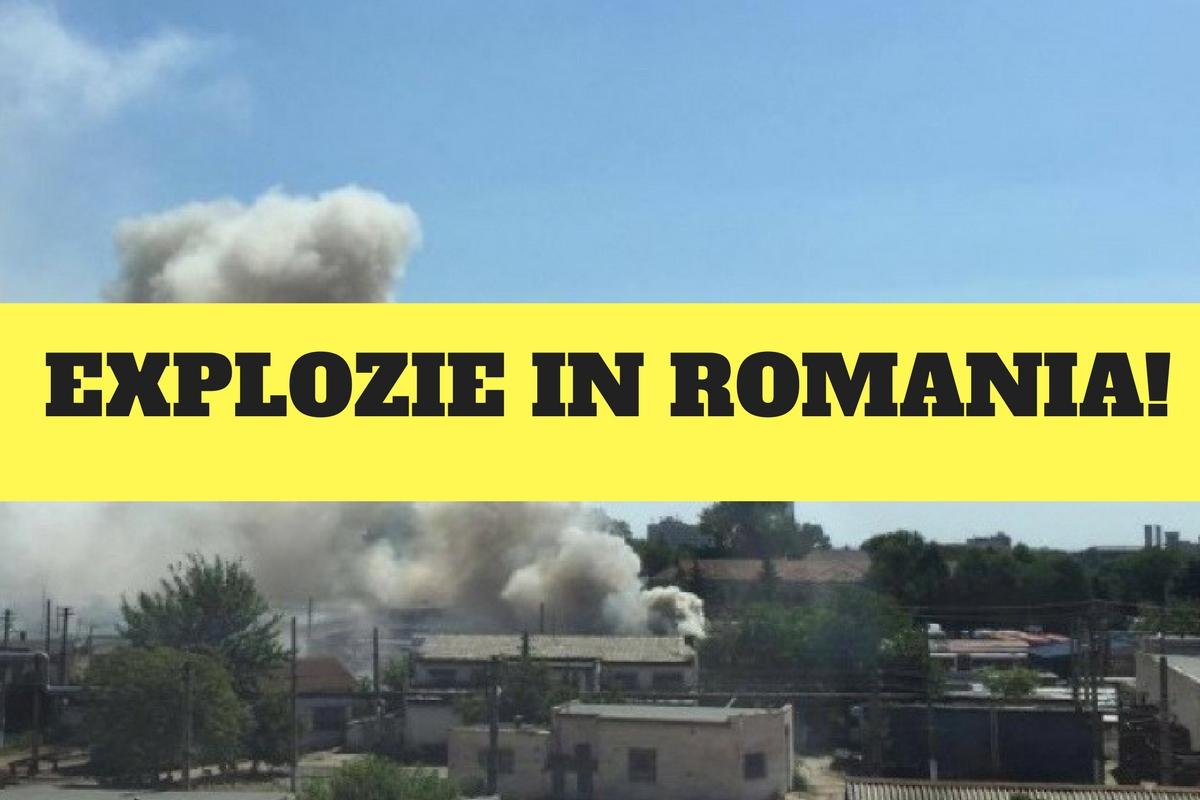 O explozie s-a produs în depoul de tramvaie UTA din Arad. Pompierii au intervenit de urgență pentru a stinge focul!