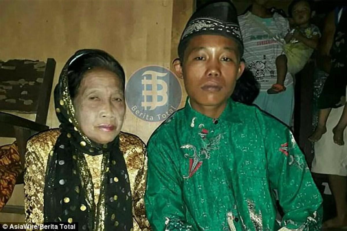 Un adolescent de 16 ani din Indonezia s-a căsătorit cu o femeie care poate să îi fie străbunică. Nunta lor a făcut înconjurul lumii!