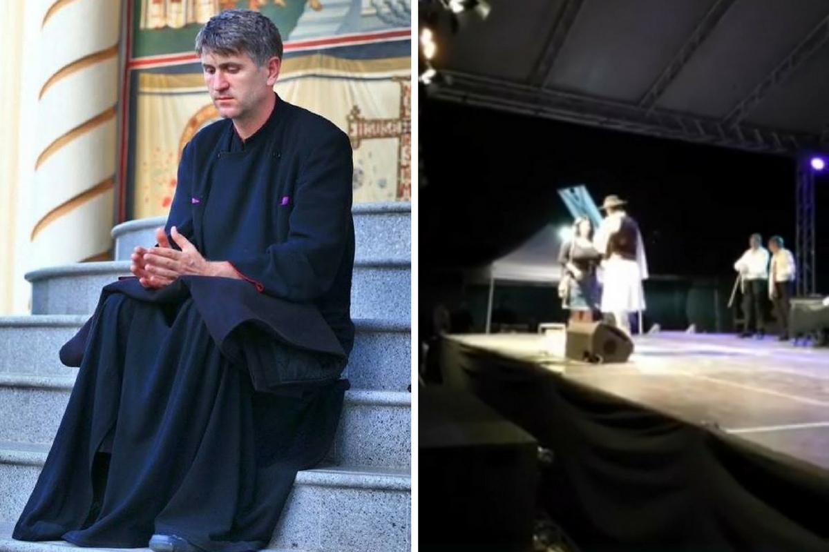 Cristian Pomohaci, păzit de polițiști! Ce s-a întâmplat la ultimul concert al preotului