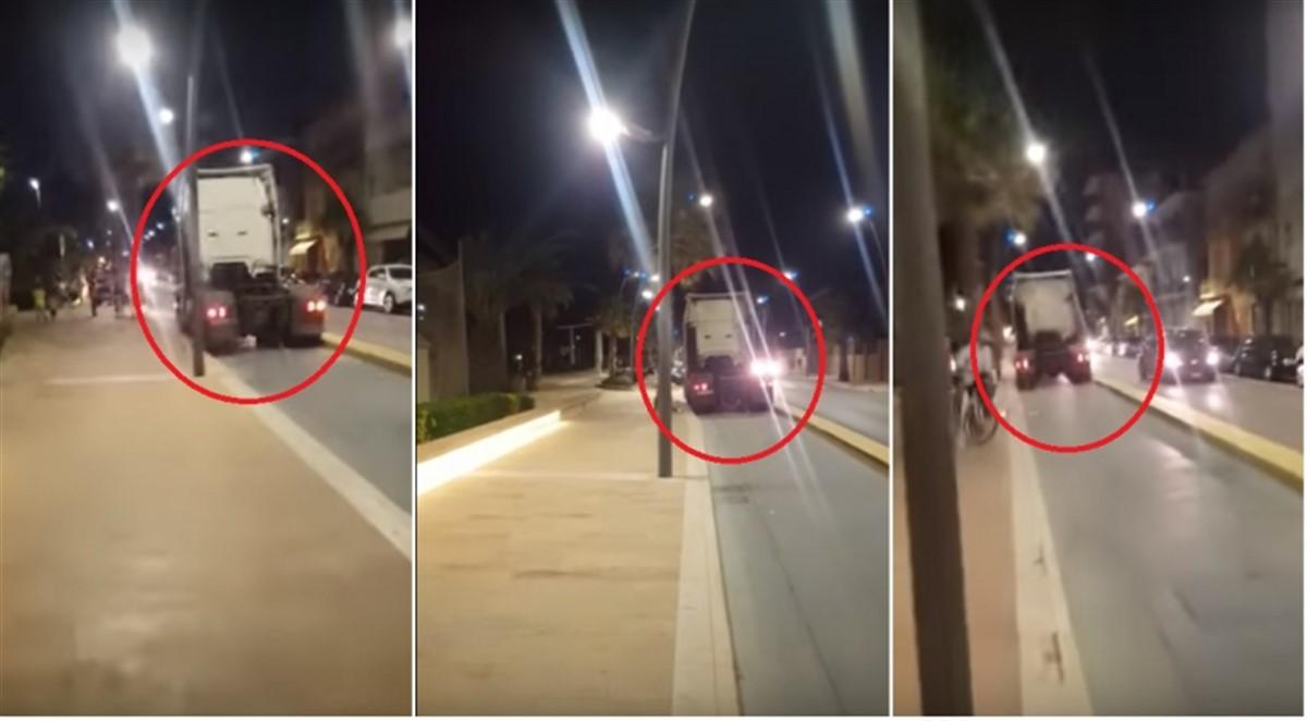 Un șofer român de TIR a provocat panică în Italia. Oamenii au luat-o la fugă când l-au văzut!