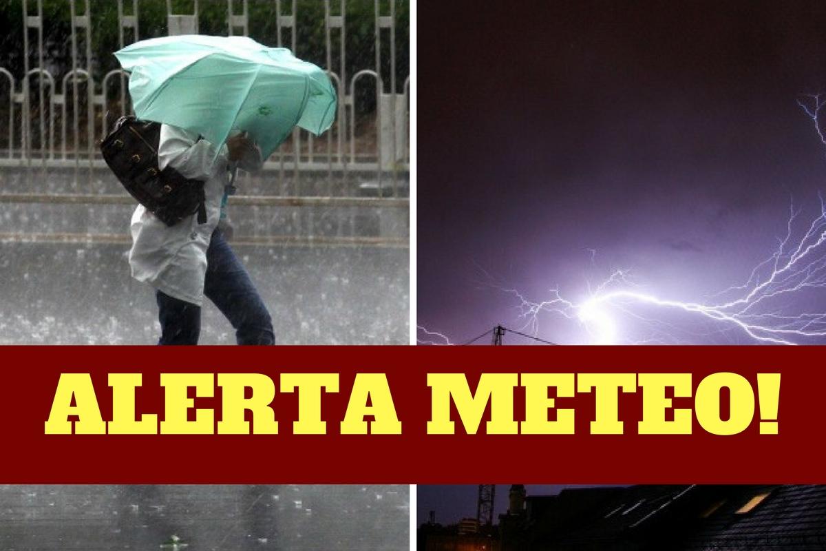 Ploi torențiale și vijelii! Meteorologii au emis avertizarea de ULTIMĂ ORĂ!