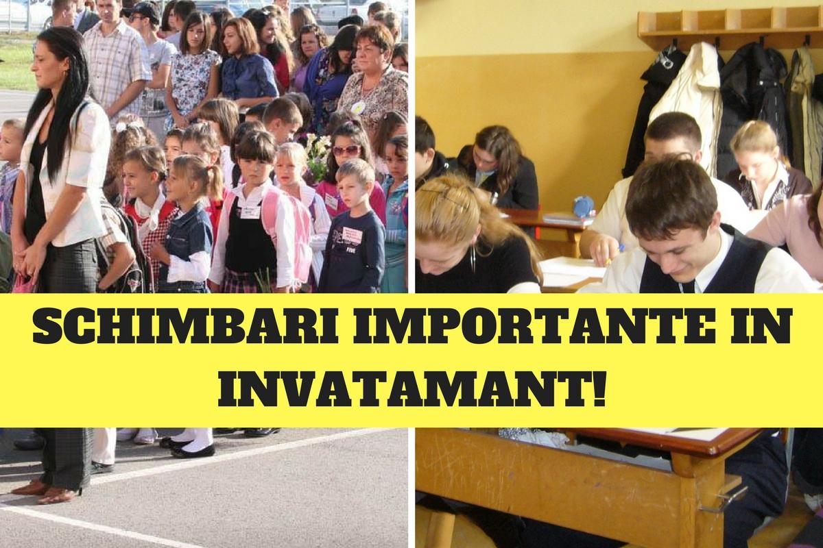 Anunț important pentru elevi și părinți de la minister! Schimbări importante în învățământ!