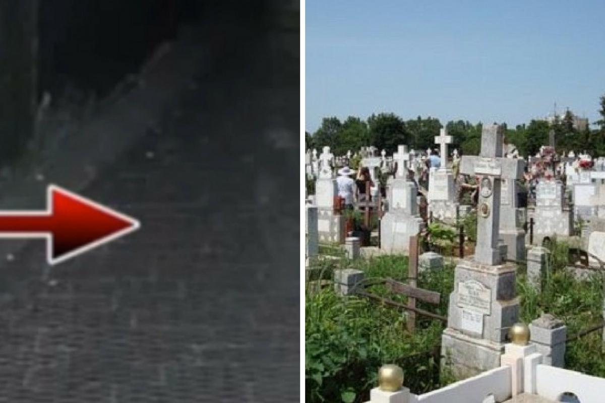 Au montat camere de supraveghere în cimitir. Într-o seară, una a filmat ceva ÎNFIORĂTOR!