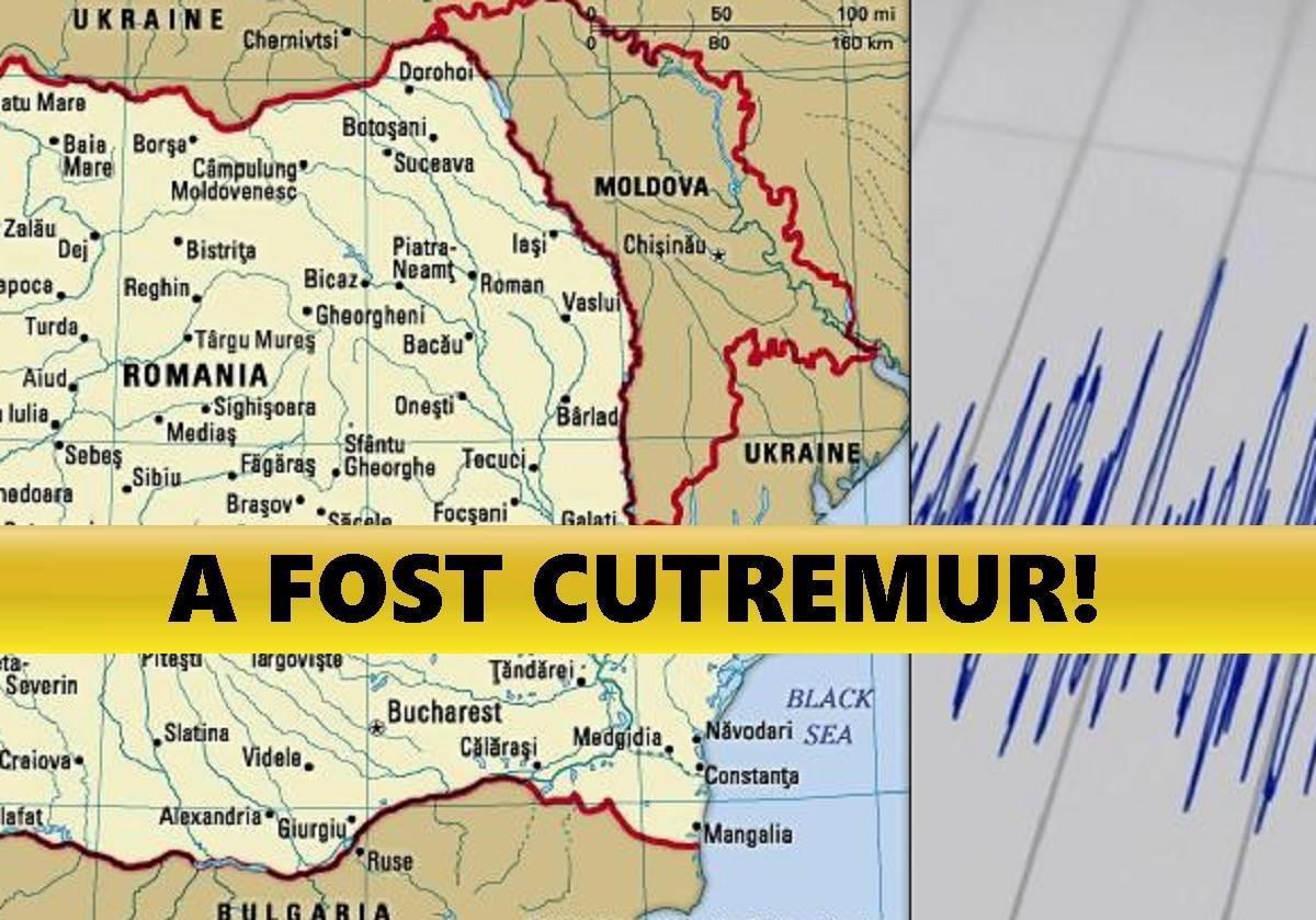 Un cutremur s-a produs, în această dimineață, în România.