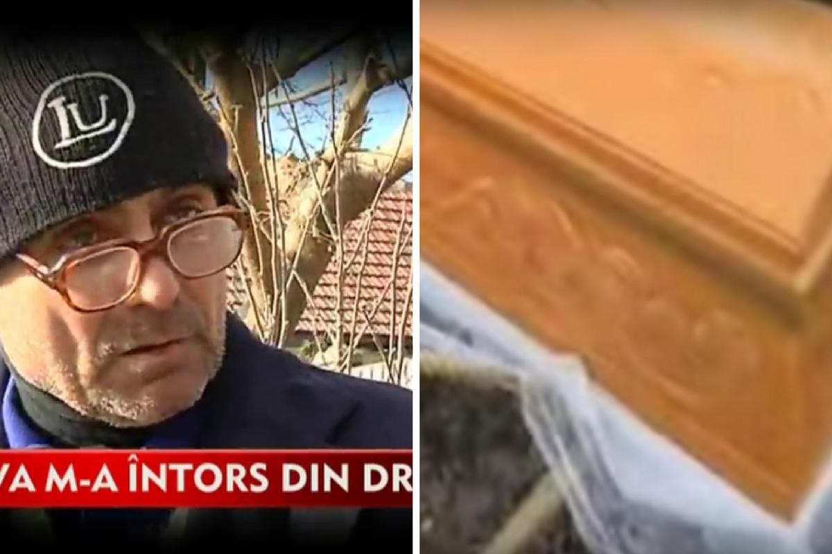 """Ilie Dobre a murit, iar la propria înmormântare a deschis ochii și a cerut apă! El a spus totul: """"Am înviat și..."""""""