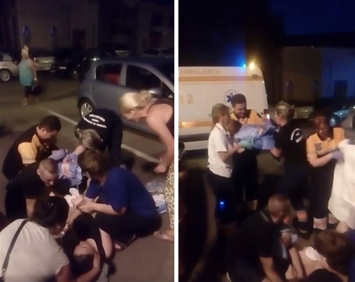 A născut pe trotuar, în fața blocului! Ce s-a întâmplat cu copilul acestei românce
