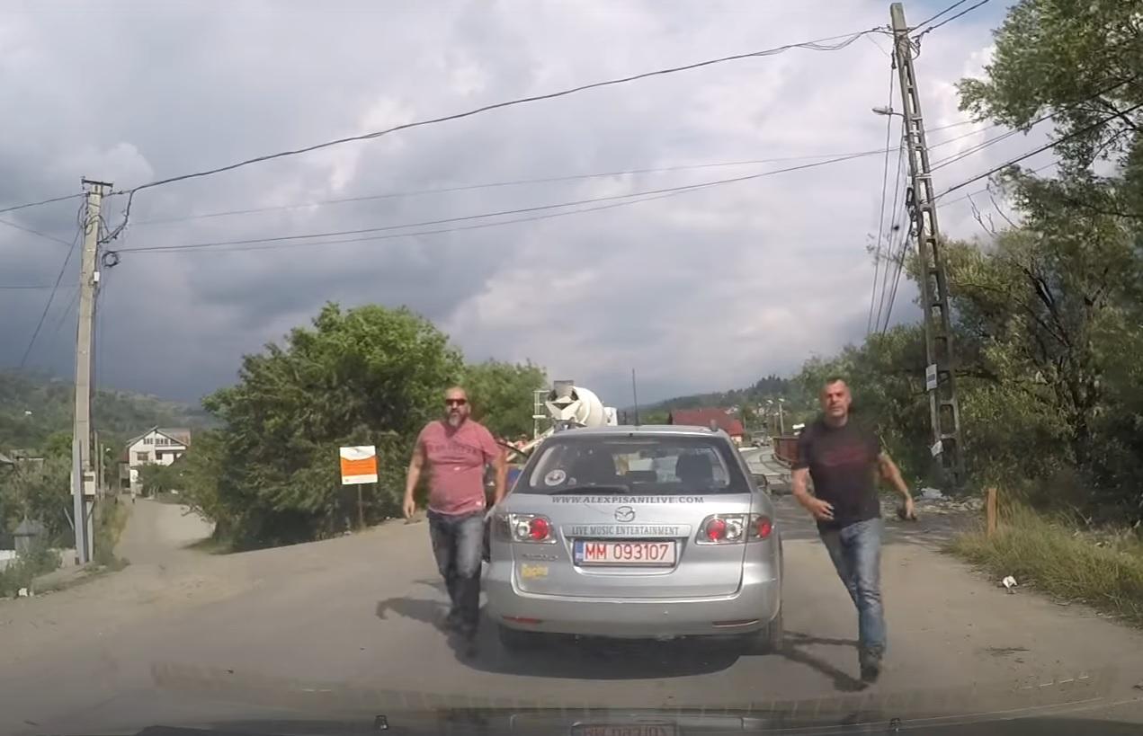 Scandal în TRAFIC. Ce a pățit un șofer!