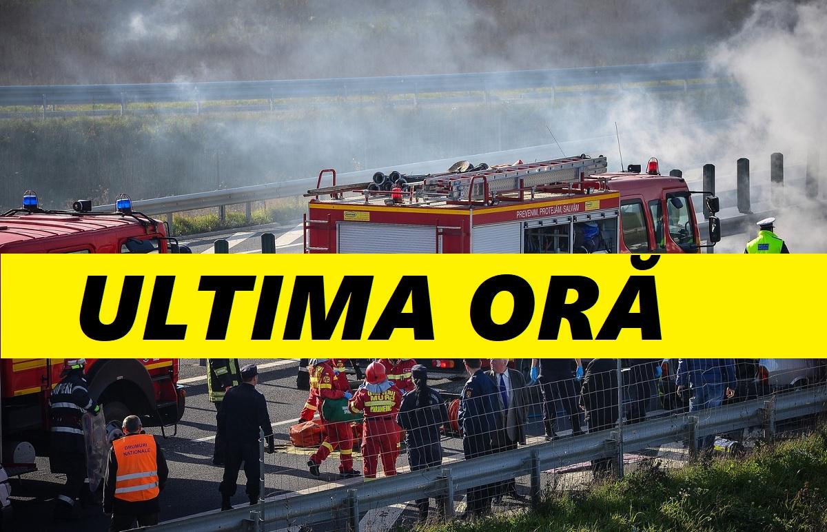 Incendiu la un atelier auto din Satu Mare