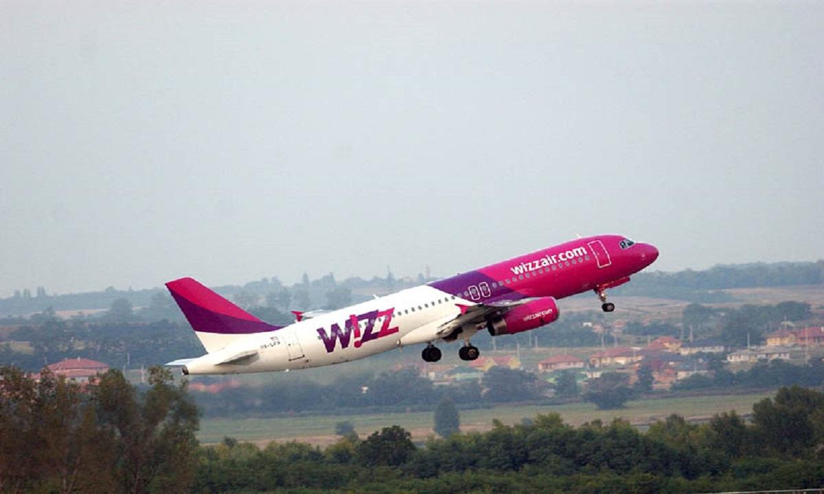 Wizz Air, o nouă rută din România, cu prețuri de la 39 lei
