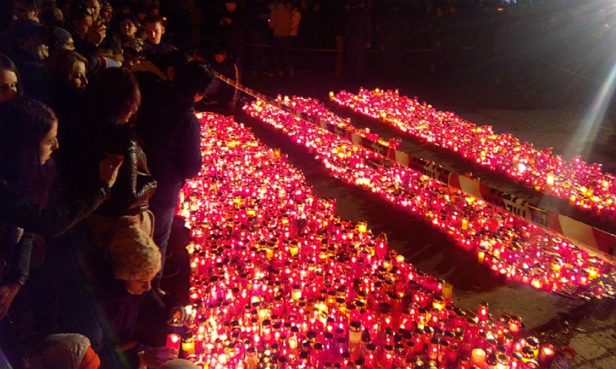 """""""Marșul Chitarelor"""" în Capitală pentru victimele tragediei din Colectiv"""
