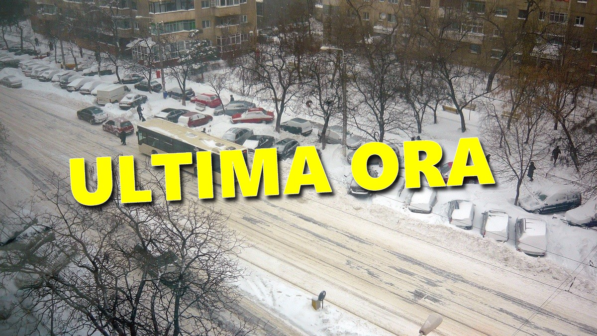 Vremea ANM săptămâna 11 - 17 martie 2019 - Revine IARNA. Atenționare METEO