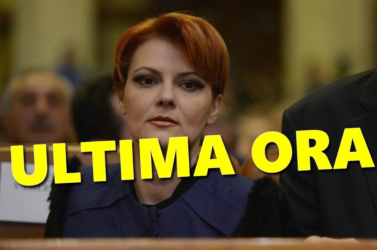 Lia Olguţa Vasilescu, anunţ de ultimă oră. Ce se întâmplă cu salariile