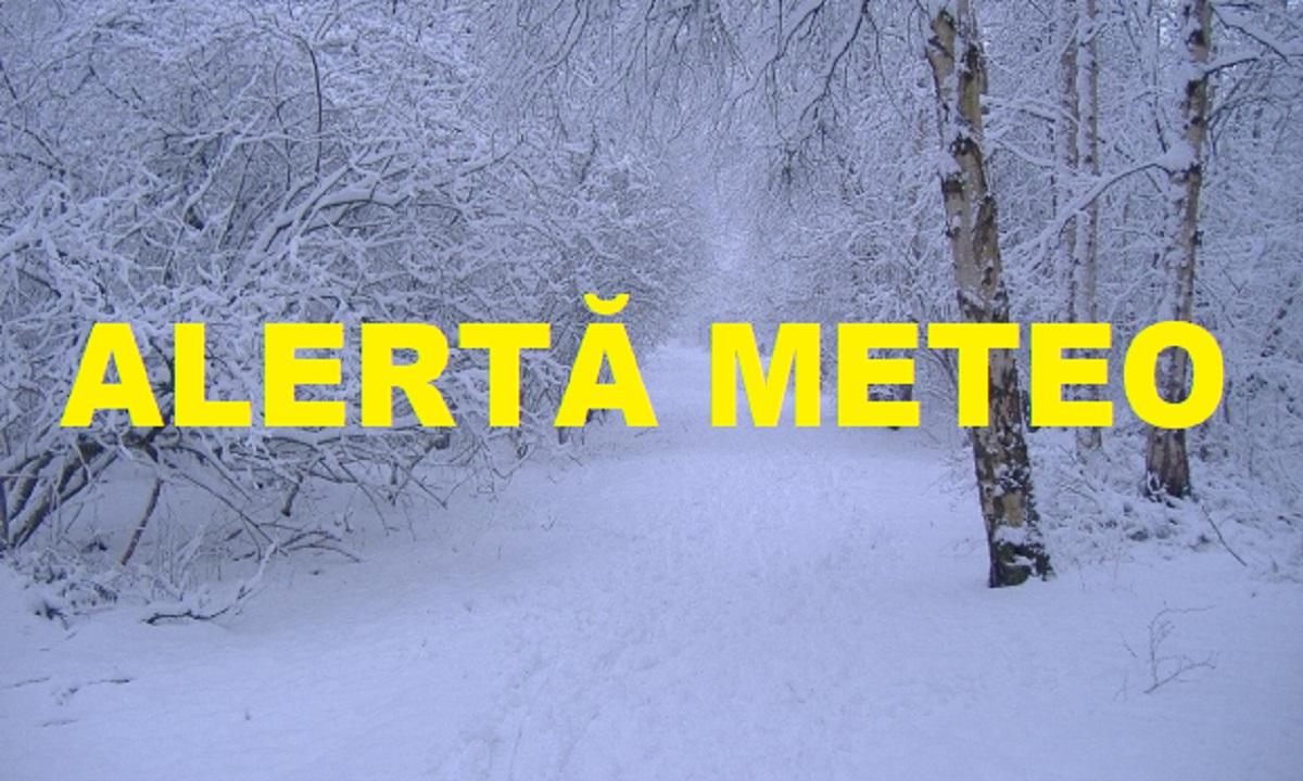 Starea vremii: iarna își intră în drepturi. Care sunt zonele vizate de atenționări
