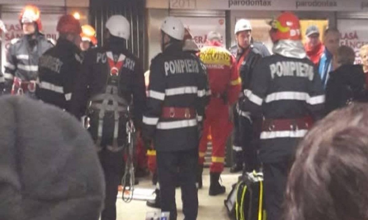 O vedetă autohtonă a mers cu metroul în ziua CRIMEI de la stația Dristor 1