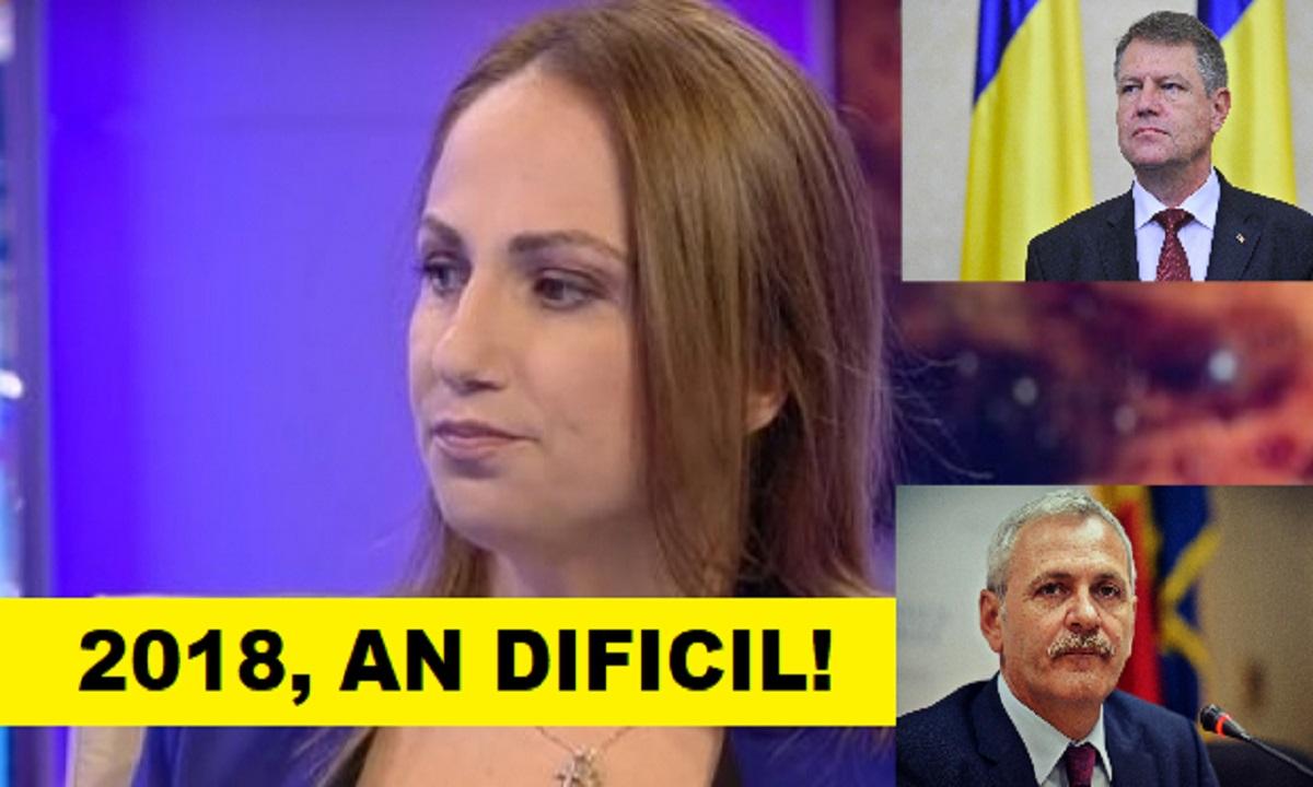 "Cristina Demetrescu, previziuni SUMBRE pentru România: ""2018, an dificil pentru Liviu Dragnea"""