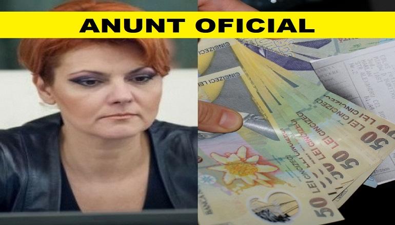 Anunţ crucial despre pensii. Lia Olguţa Vasilescu explică ce se întâmplă