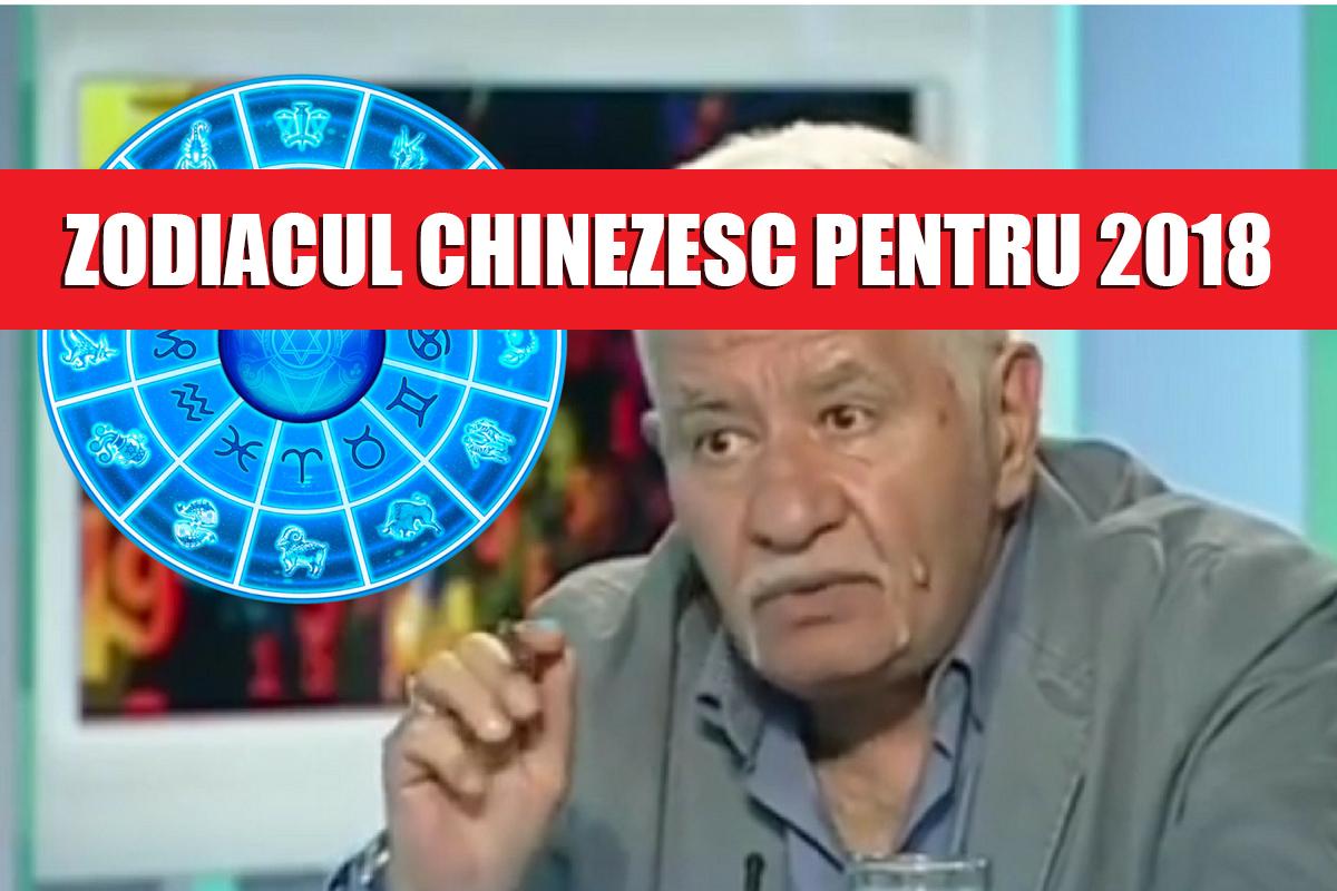 Zodiacul chinezesc pentru 2018. Predicțiile lui Mihai Voropchievici, pentru fiecare zodie