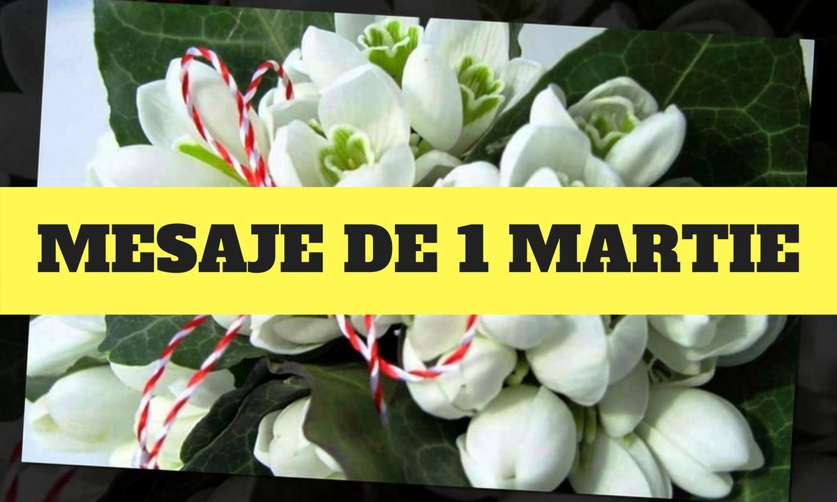 """Mesaje de 1 martie, urări, sms-uri și felicitări cu ocazia zilei de Mărțișor. Transmite un """"la mulți ani"""" femeilor din viața ta!"""
