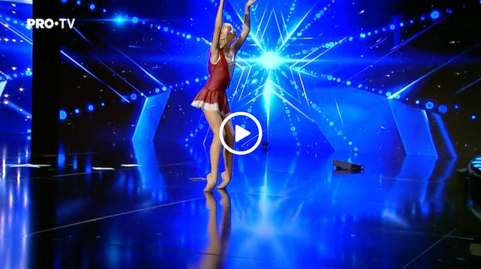 Golden Buzz la Românii au talent: Bianca Badea momentul urmărit de milioane de oameni