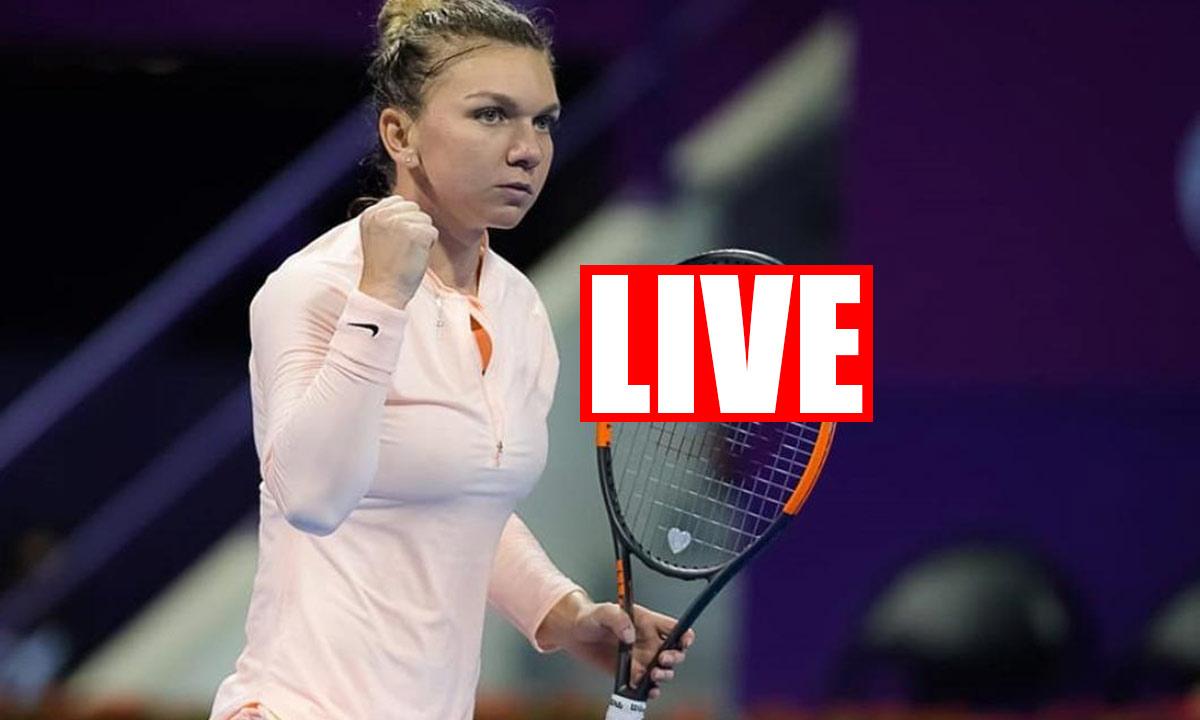 Tenis: LIVE VIDEO Halep vs Bellis la Digi Sport 2 - HALEP ONLINE DOHA