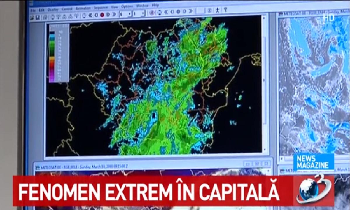Fenomen extrem în București! Cum va fi vremea în perioada 18 - 24 martie 2018