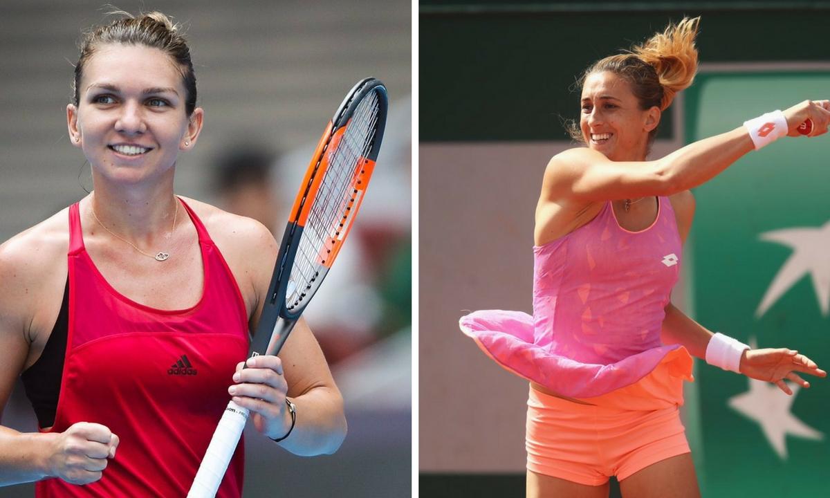 Simona Halep - Petra Martic LIVE în sferturile de finală de la Indian Wells