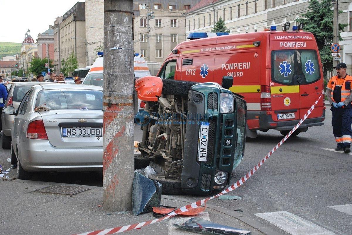 Grav accident de circulație în Vaslui! Cine sunt victimele, traficul este blocat pe ambele sensuri