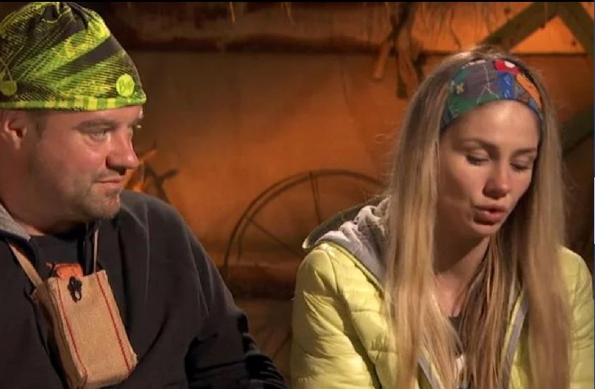 Scandal la TV! Andrei Duban și soția sa s-au certat la Ferma Vedetelor! Ea s-a făcut foc și pară