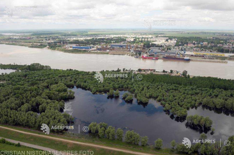 Circulația cu bacul pe Dunăre între judeţele Tulcea şi Galaţi a fost reluată